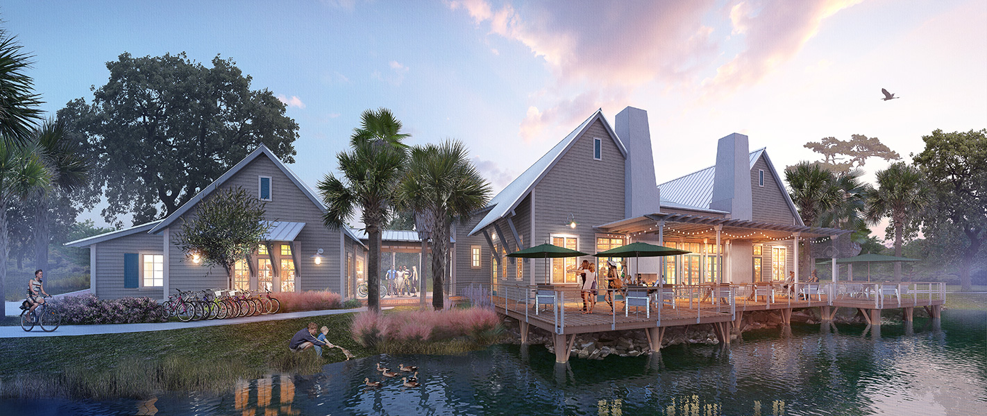 Bexley Clubhouse Rendering