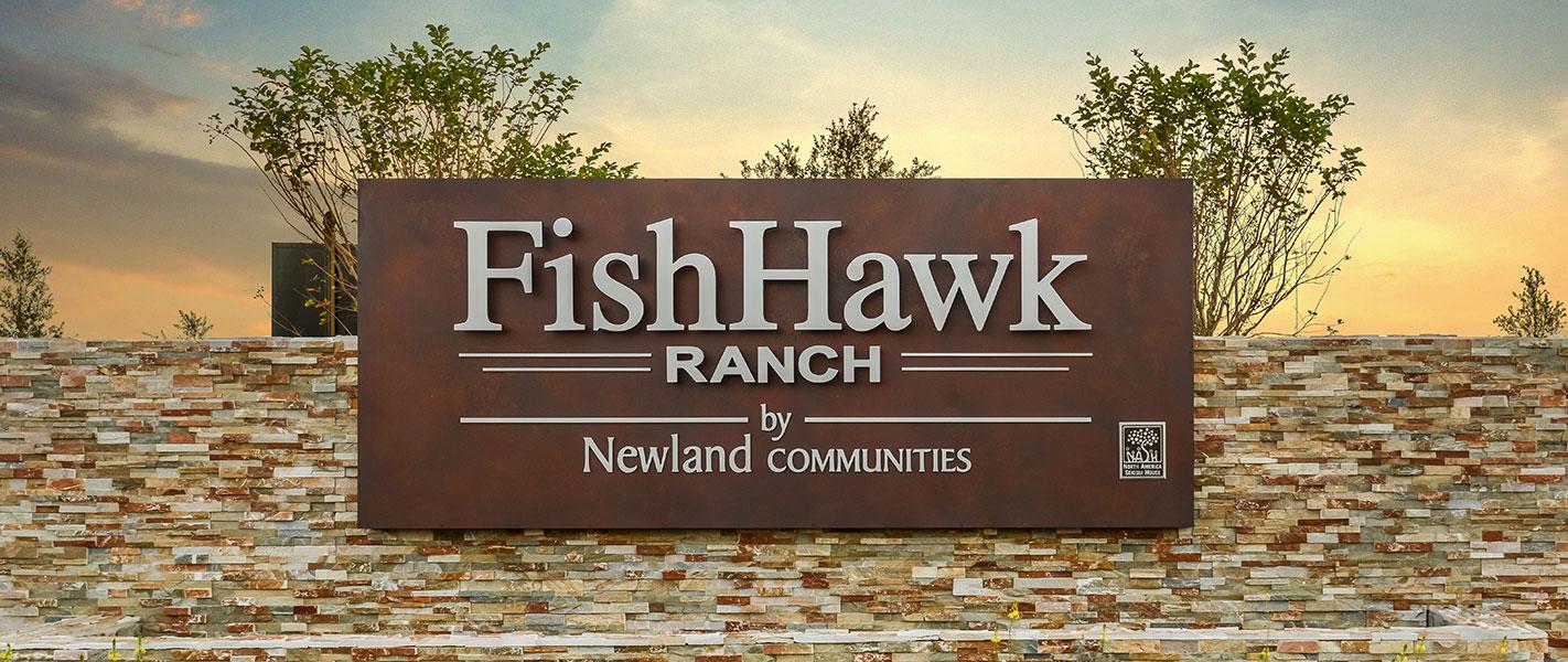 FishHawk Ranch Monument Sign