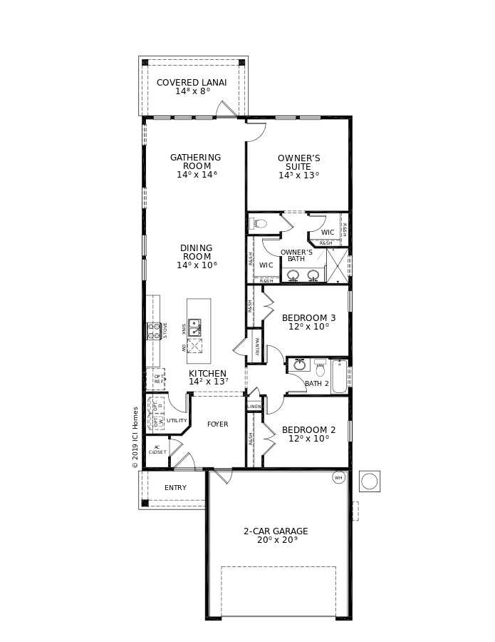 The Lincoln Floorplan at Nocatee