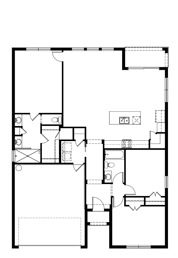 The Laguna Floorplan at Oakmont