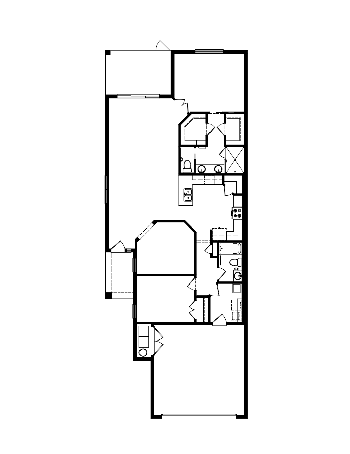 The Arbor II Floorplan at Plantation Bay