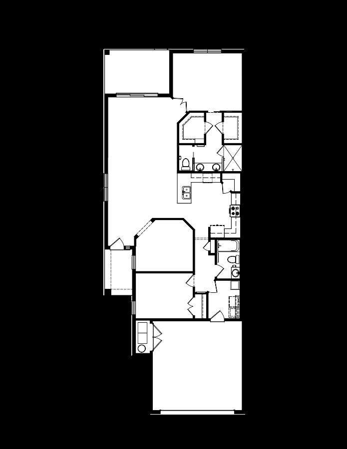 The Arbor II Floorplan at Plantation Bay