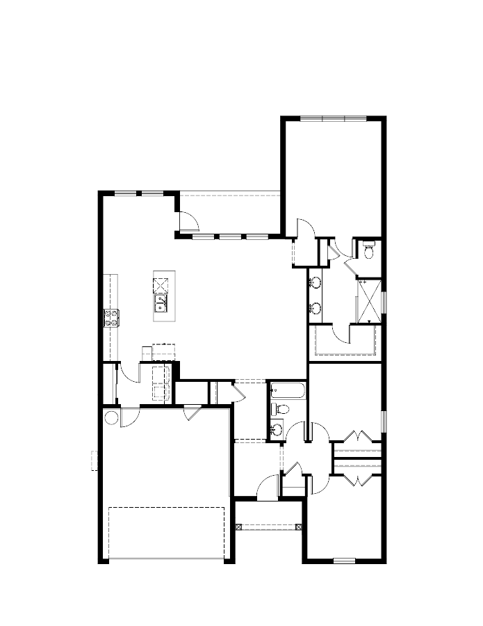 The Fontana Floorplan at Oakmont