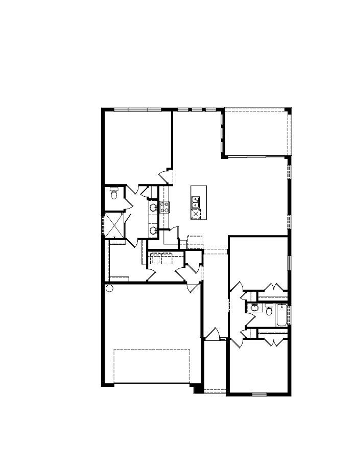 The Avery Floorplan at Oakmont