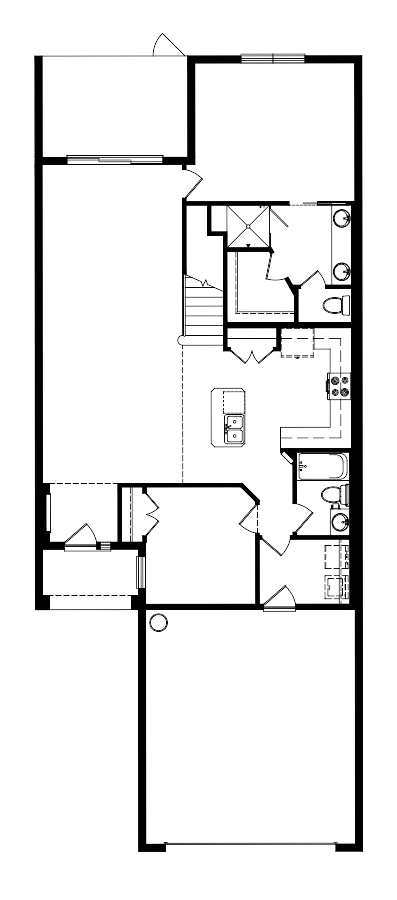 The Blossom II Floorplan at Plantation Bay