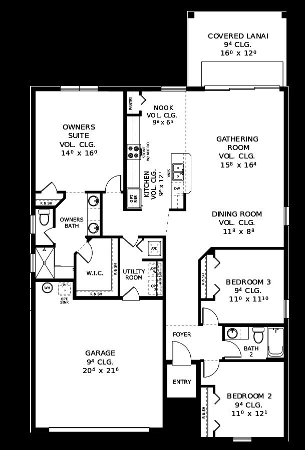 The Ocala Floorplan at Plantation Bay