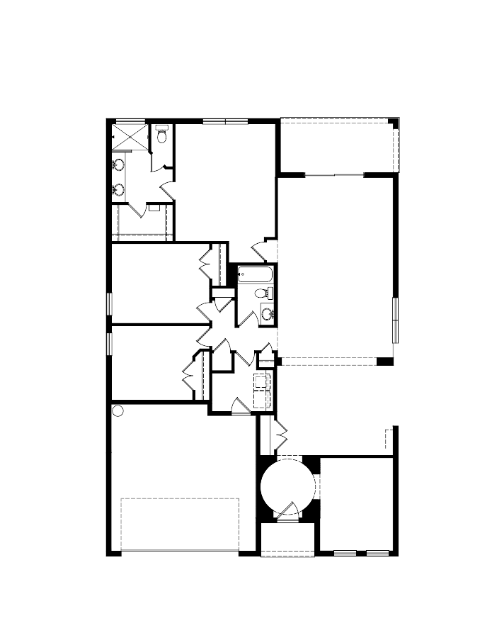 The Monterey Floorplan at Mosaic