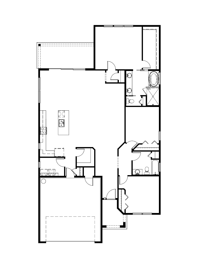 The Carmela Floorplan at Tamaya