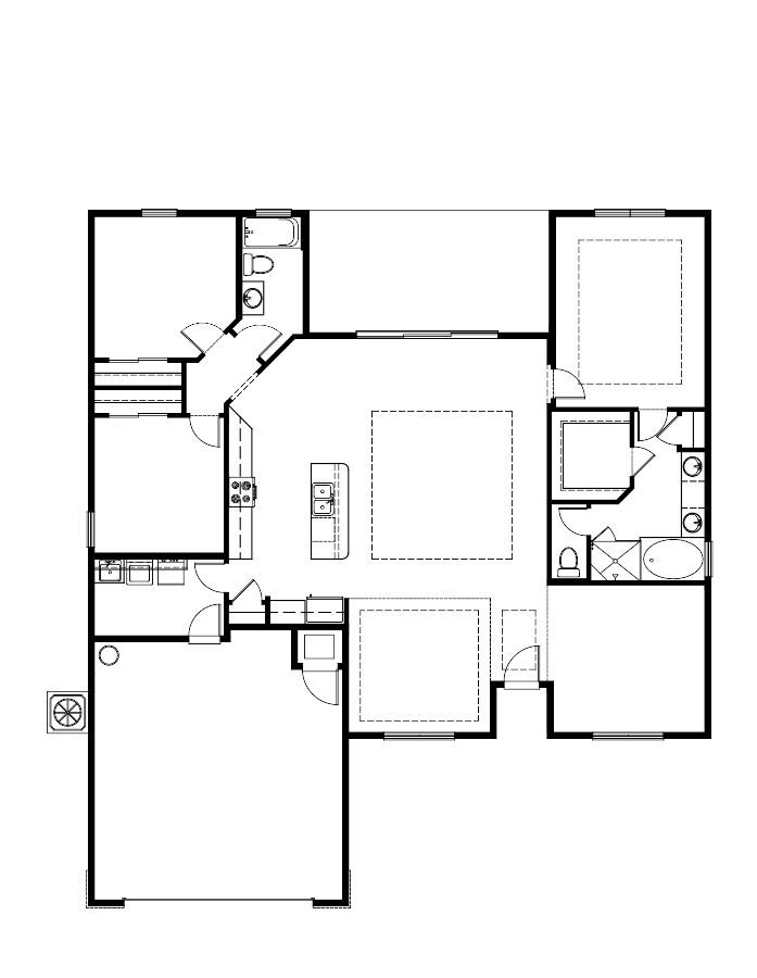 The Weston Floorplan at Oakmont