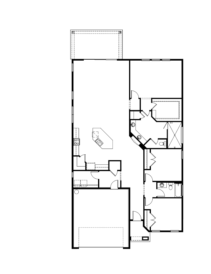 The Granada Floorplan at Tamaya