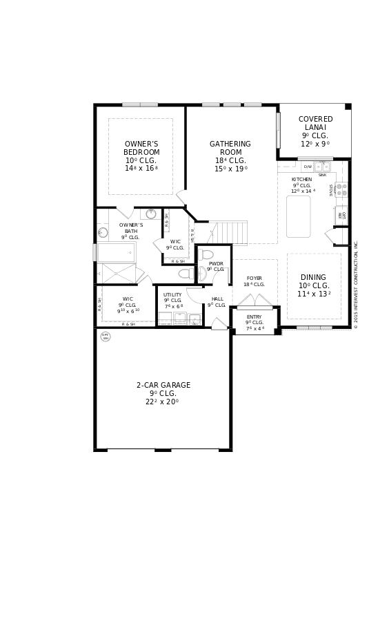 The Weschester Floorplan at Oakmont