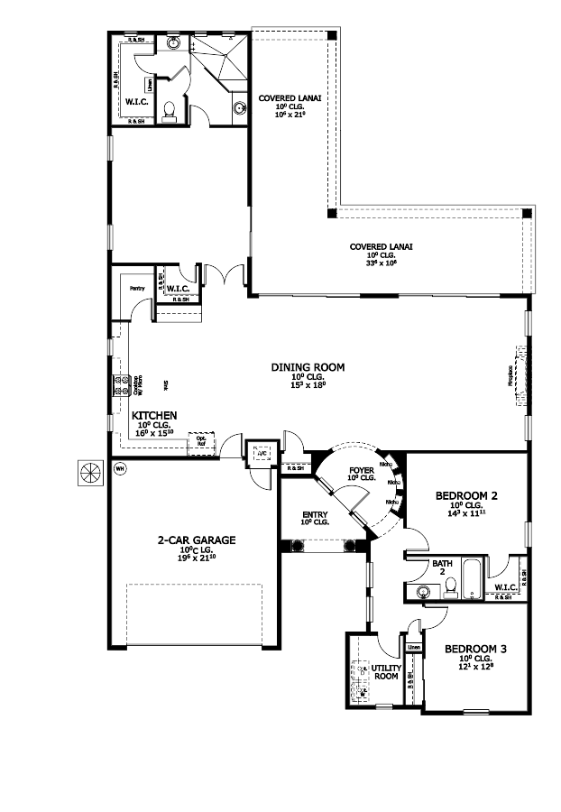 The Vienna Floorplan at Plantation Bay