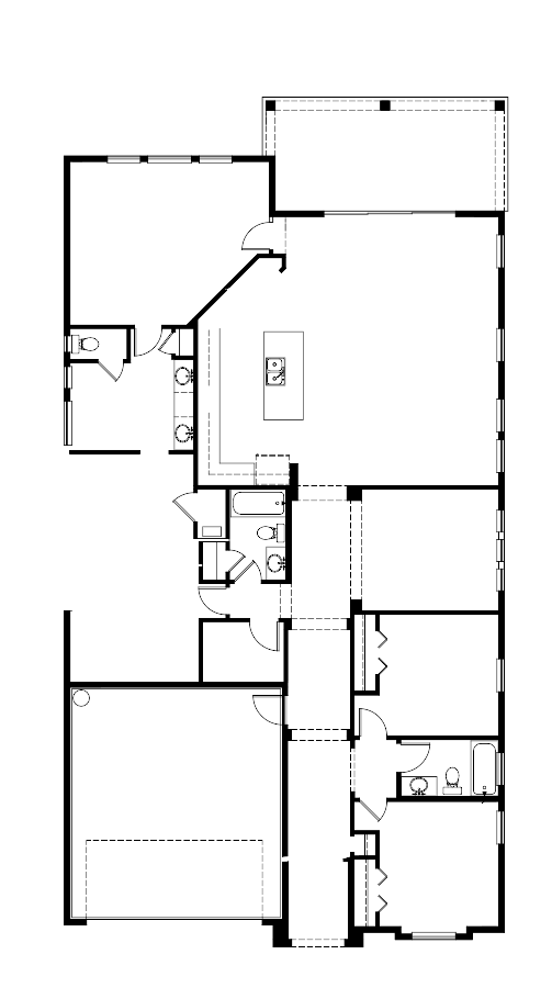 The Serena Floorplan at Plantation Bay