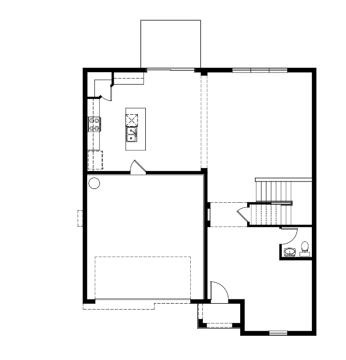 The Malibu Floorplan at Mosaic