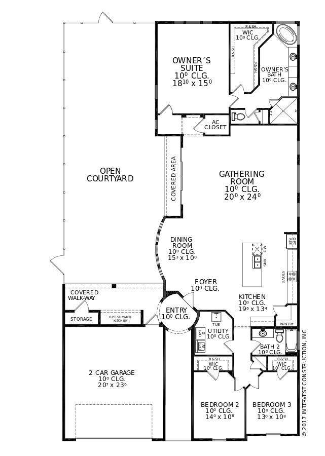 The Scarlett II Floorplan at Oakmont