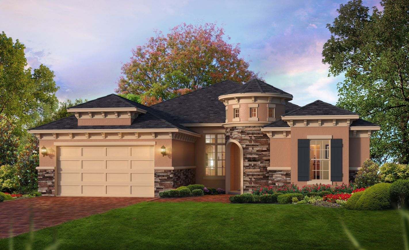 New Homes for Sale Ormond Beach FL - The Brandon at Plantation Bay