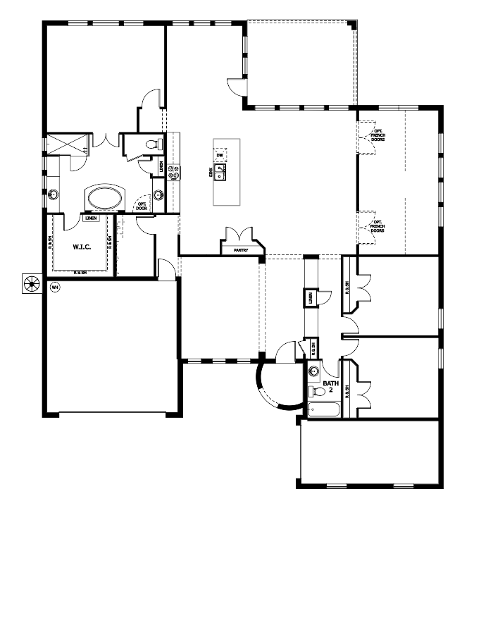 The Cameron Floorplan at Plantation Bay