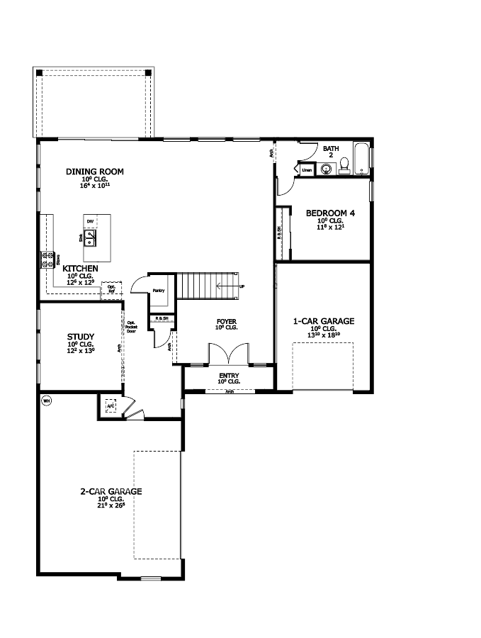The Victoria Floorplan at Oakmont