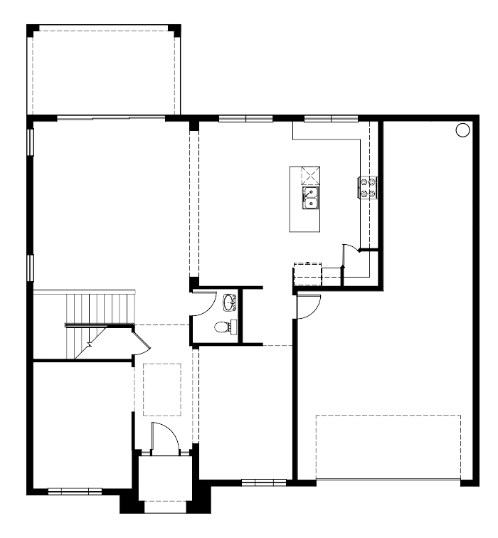 The Travis Floorplan at Mosaic