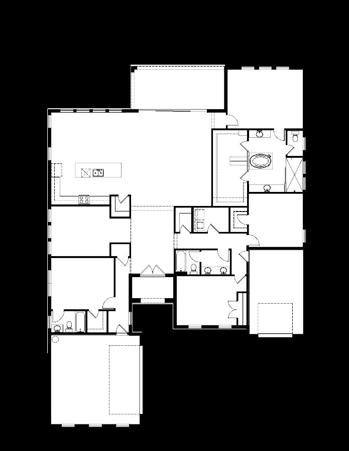 The Summerlin Floorplan at Plantation Bay