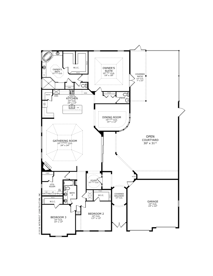 The Madeline Floorplan at Tamaya