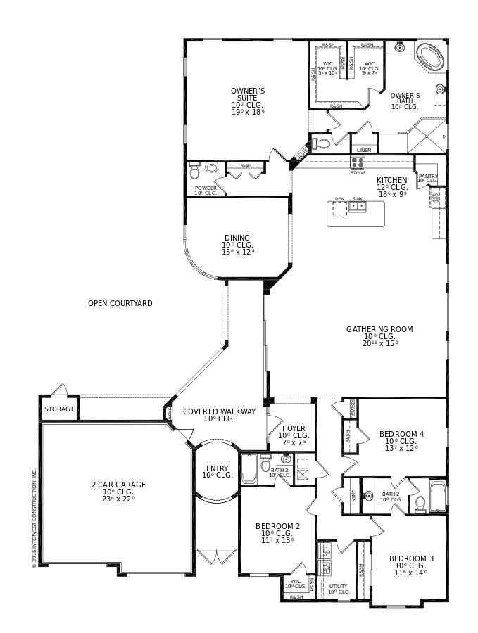 The Madeline II Floorplan at Oakmont