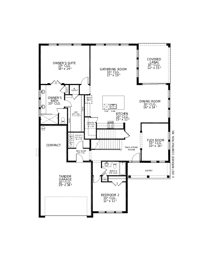 The La Mirada Floorplan at Nocatee