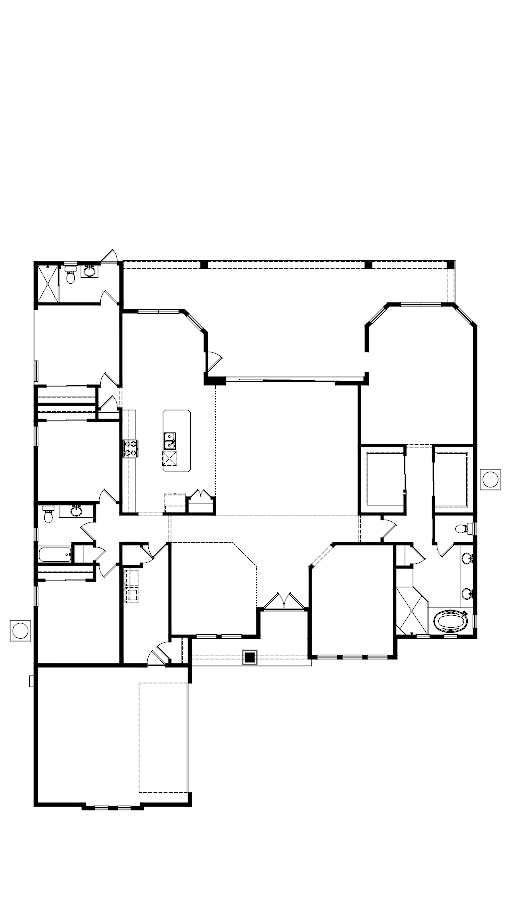 The Egret V Floorplan at Plantation Bay
