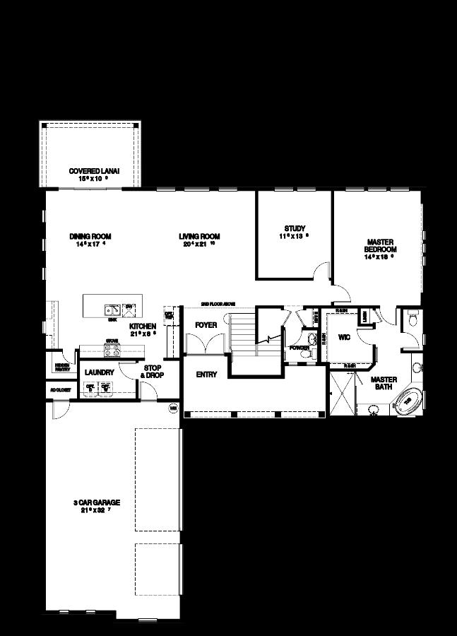 The Marsala Floorplan at Nocatee