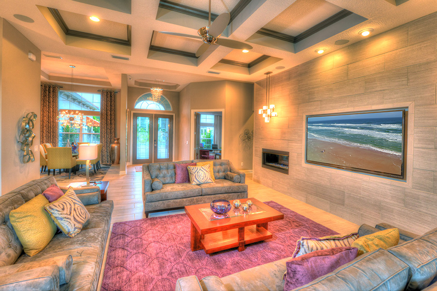 Biltmore at amelia national ici homes - Large pictures for living room ...