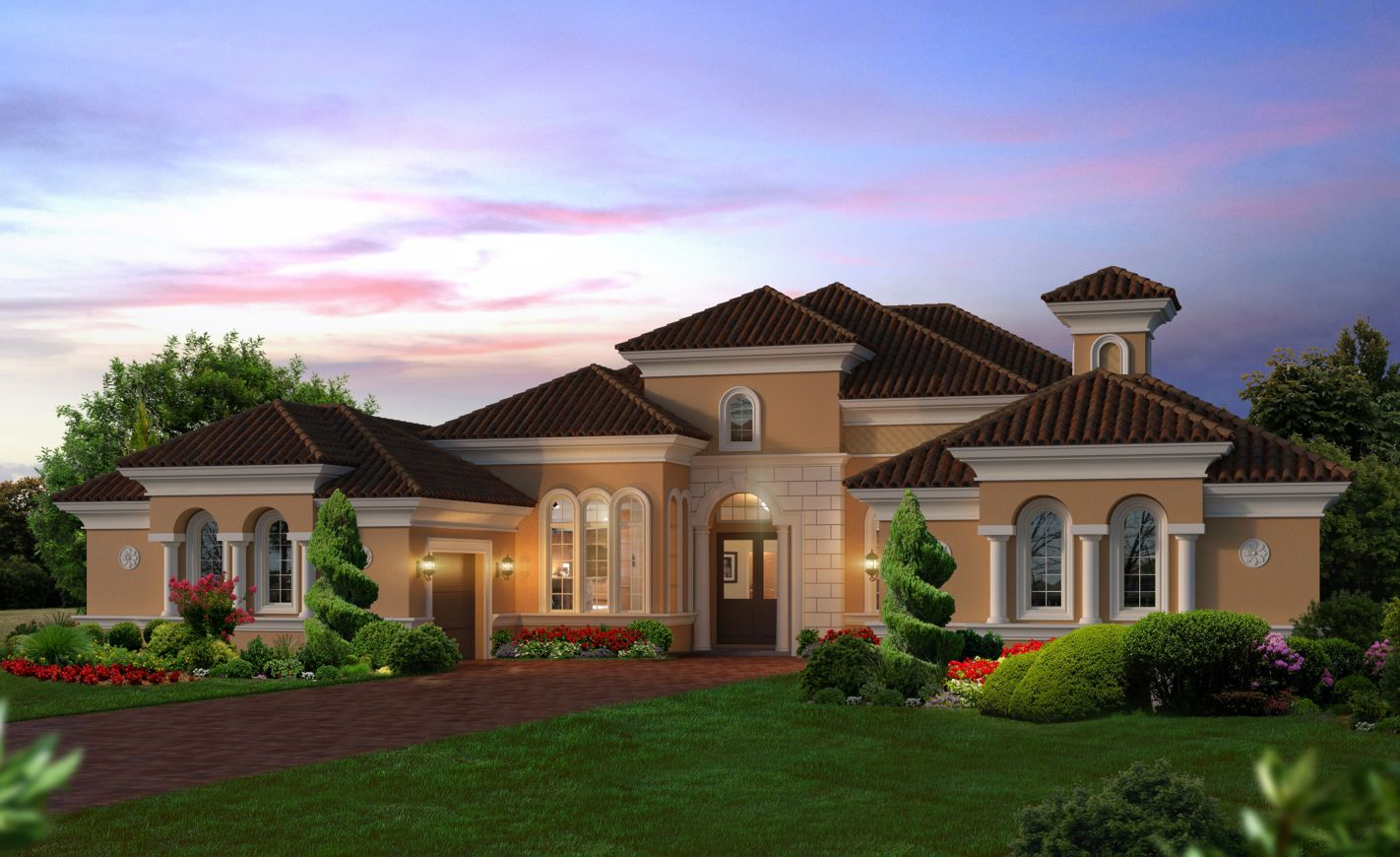 New Homes for Sale Ormond Beach FL - The Bordeaux at Plantation Bay