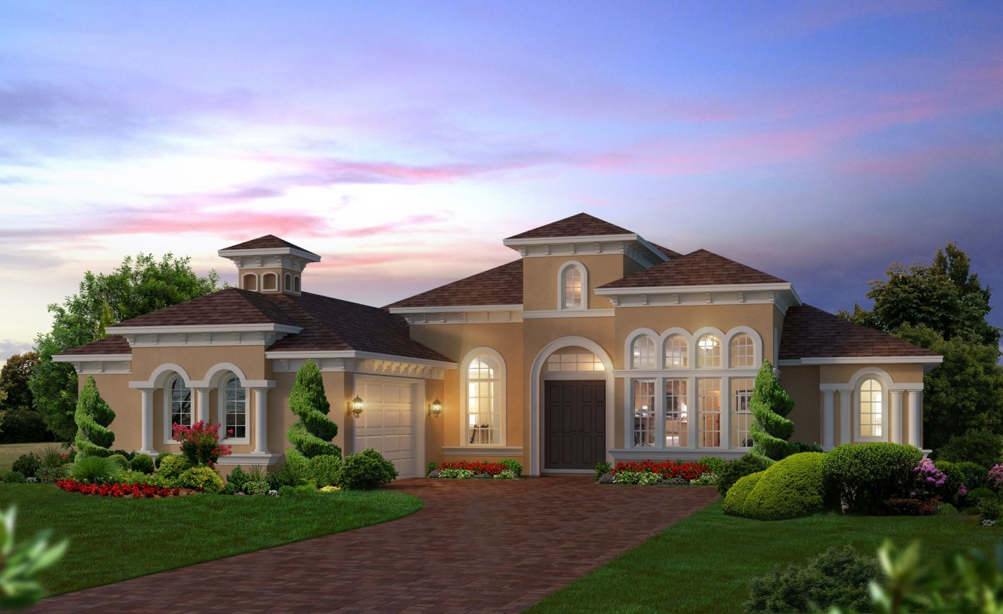 New homes in grand haven palm coast ici homes for Florida house plans for sale