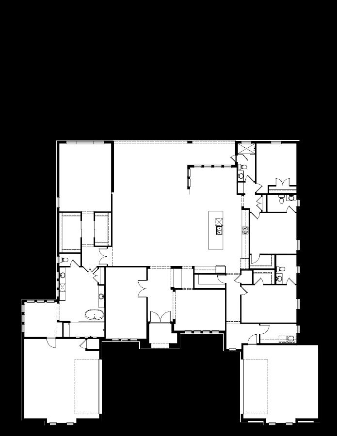 The Monaco Floorplan at Plantation Bay