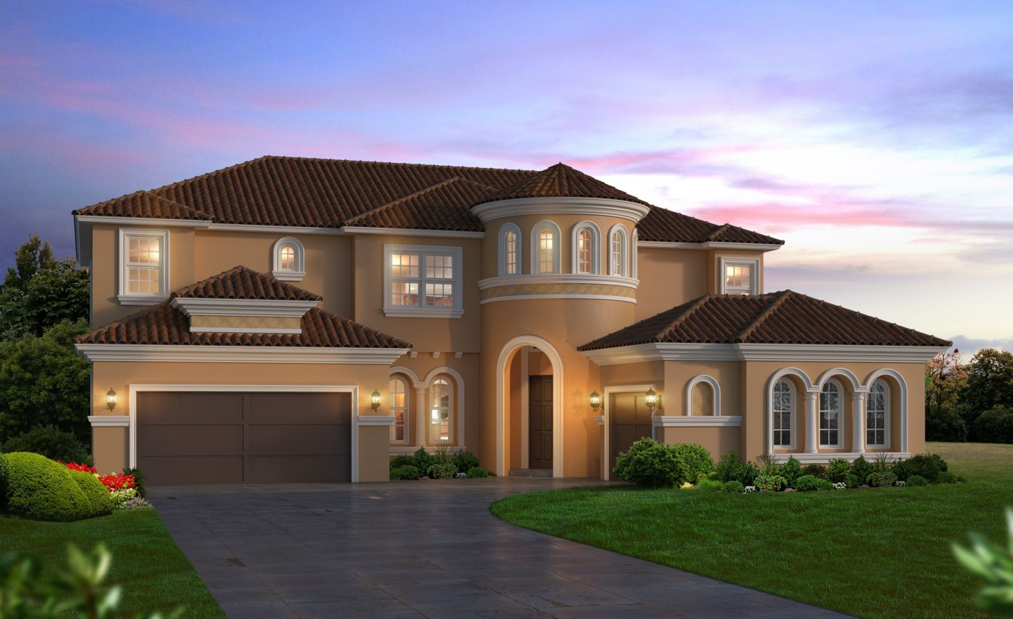 Mediterranean style homes tampa fl home design and style for House plans for florida homes