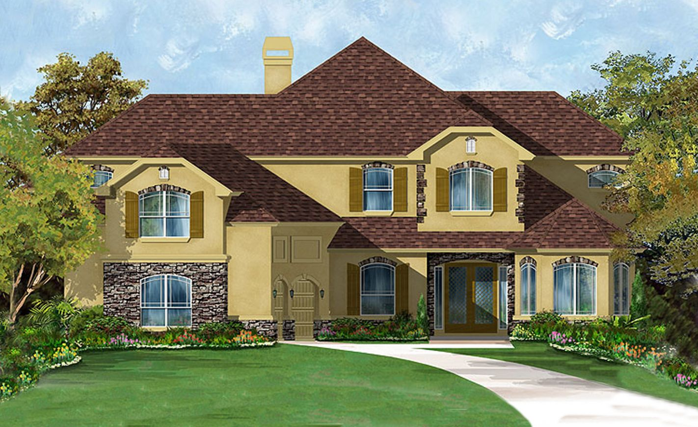 New Homes for Sale in Jacksonville FL  - The Nottingham II at Tamaya