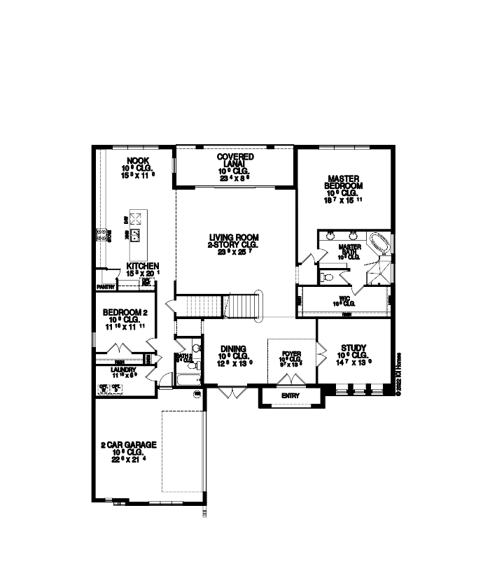 The Augusta Floorplan at Tamaya