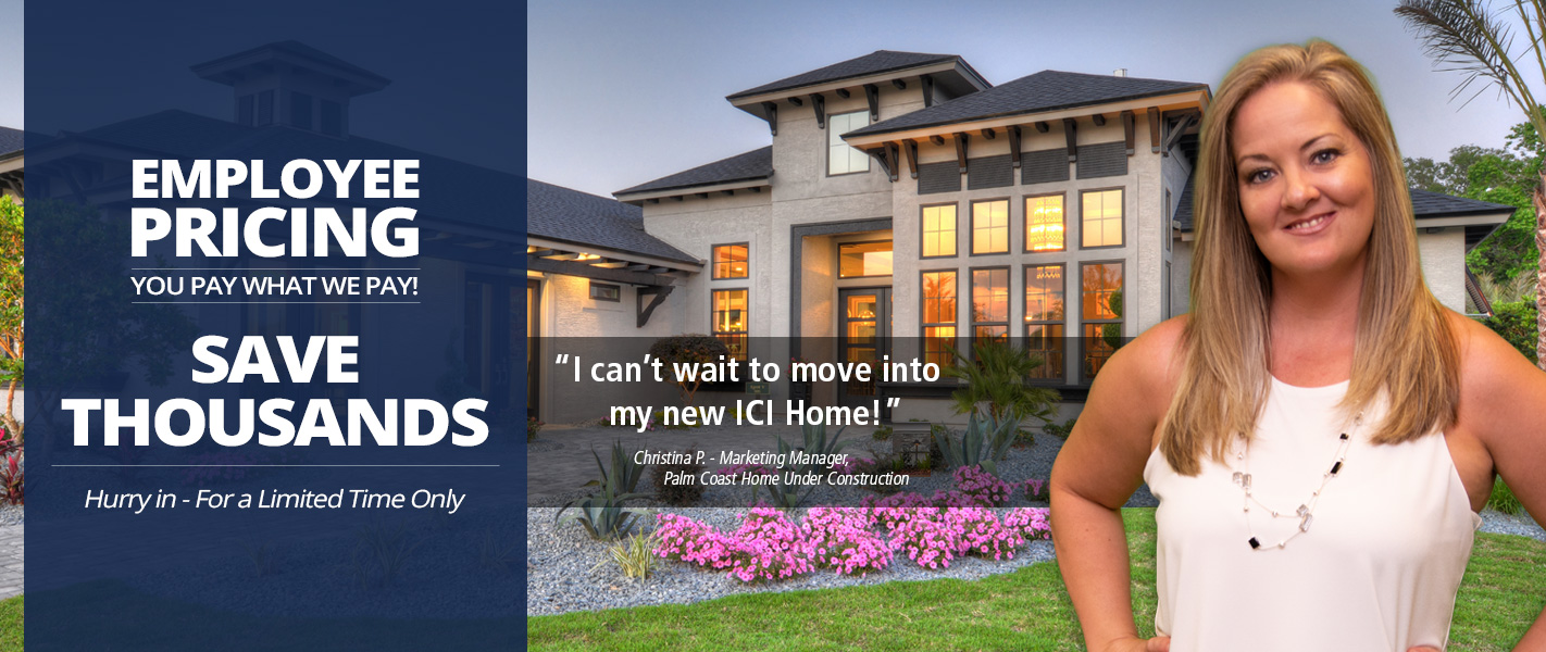 ICI Homes Employee Pricing